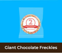 Giant Chocolate Freckles For Kids Birthday Parties