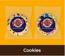 Personalised Cookies For Adult Parties