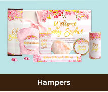 Baby Birth Announcement Hampers