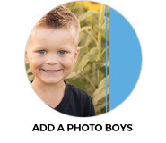 Add A Photo Boys Birthday Party Favours
