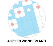 Alice In Wonderland Custom Birthday Party Favours