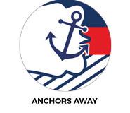 Anchors Away Custom Birthday Favours