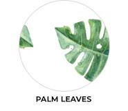 Palm Leaves Theme Wedding Favours