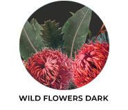 Wild Flowers Dark Wedding Favours