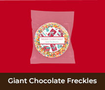 Christmas Giant Chocolate Freckles