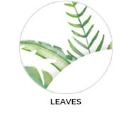 Leaves Theme Personalised Baby Shower Favours