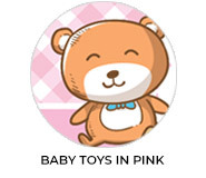 Baby Toys In Pink Custom Baby Shower Favours