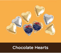 Personalised Chocolate Hearts For Australia Day