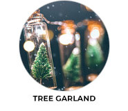 Tree Garland Theme Custom Christmas Favours