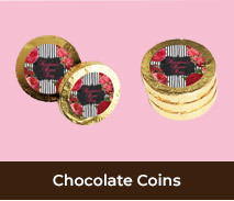Personalised Chocolate Coins For Hens Nights