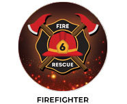 Firefighter Theme Birthday Favours