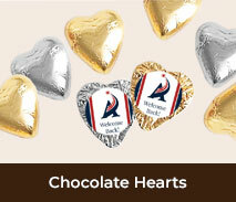 Welcome Back Chocolate Hearts