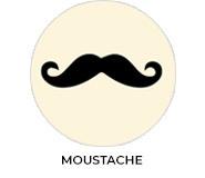 Moustache Of A Little Man Baby Shower Favours