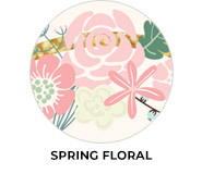 Spring Florals Personalised Birthday Party Favours