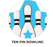 Ten Pin Bowling Personalised Party Favours