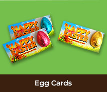 Personalised Easter Egg Cards