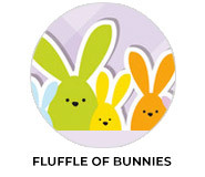 Fluffle Of Bunnies Easter Chocolate Theme