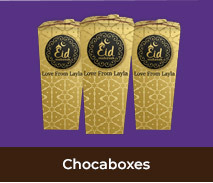 Personalised Chocabox Favour Boxes For Eid