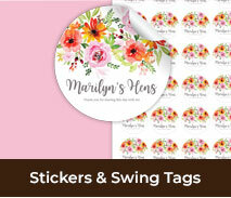 Custom Stickers And Swing Tags For Hens Nights