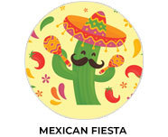Mexican Fiesta Theme Birthday Favours