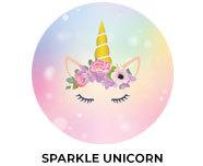 Sparkle Unicorn Birthday Custom Party Favours