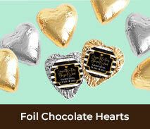 Custom Chocolate Hearts For School Graduations