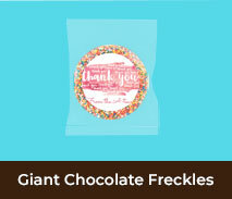 Thank You Giant Chocolate Freckles