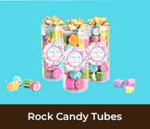 Thank You Rock Candy Tubes
