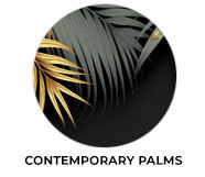 Contemporary Palms Wedding Theme Favours