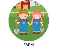 Farm Yard Birthday Party Custom Favours