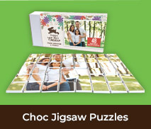 Personalised Easter Chocolate Puzzles