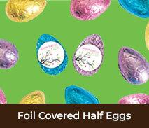 Easter Foil Covered Half Eggs