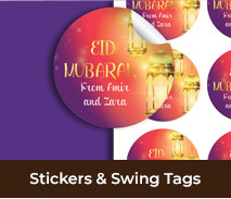 Personalised Labels And Swing Tags For Eid