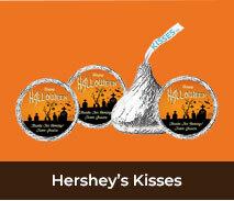 Halloween Custom Hersheys Kisses