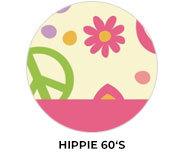 60s Hippy Theme Birthday Favours