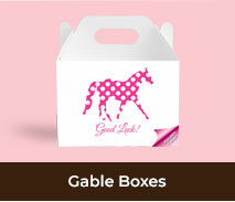 Custom Gable Boxes For Spring Racing Carnival