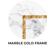 Marble Gold Frame Theme Wedding Favours