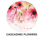 Cascading Flowers Wedding Theme Favours