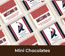 Welcome Back Personalised Mini Chocolates