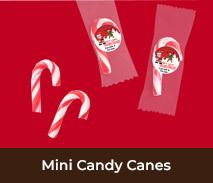 Custom Christmas Mini Candy Canes