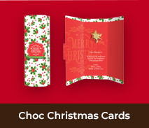 Personalised Chocolate Christmas Cards