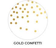 Thank You - Gold Confetti