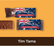 Personalised Tim Tams For Australia Day