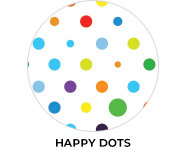 Happy Dots Birthday Party Favours