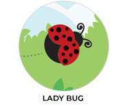 Lady Bugs Birthday Party Custom Favours