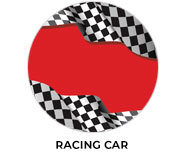 Racing Car Theme Personalised Birthday Favours