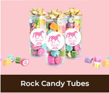Spring Racing Carnival Rock Candy Tubes