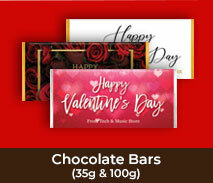 Valentines Day Chocolate Bars