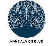 Mandala On Blue Theme Wedding Favours