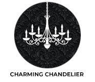 Charming Chandelier Wedding Theme Favours
